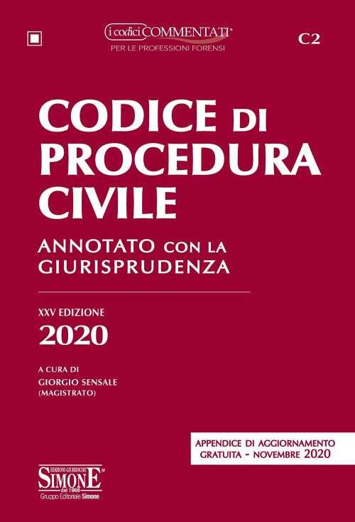 codice di procedura civile 2020 simone esame avvocato