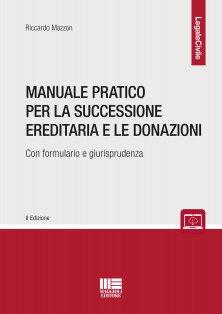 manuale successione ereditaria e donazioni