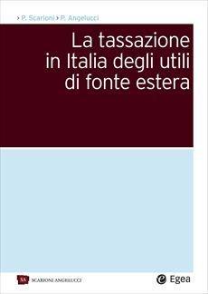 tassazione in italia utili di fonte estera