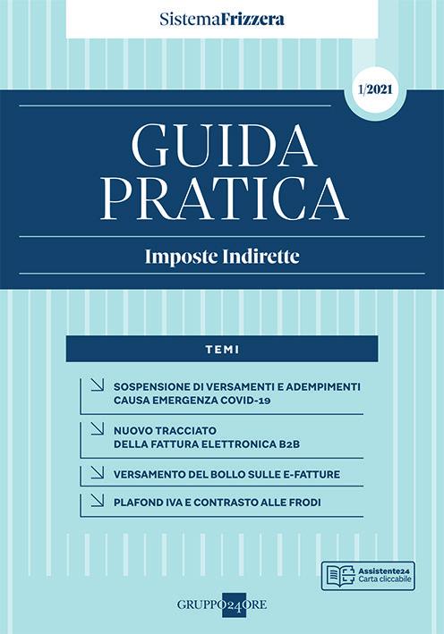 GUIDA PRATICA IMPOSTE INDIRETTE 2021