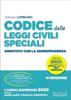 codice leggi civili speciali 2020