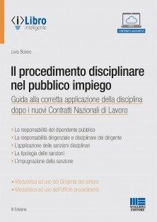 procedimento disciplinare pubblico impiego
