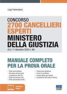 manuale concorso 2700 cancellieri maggioli
