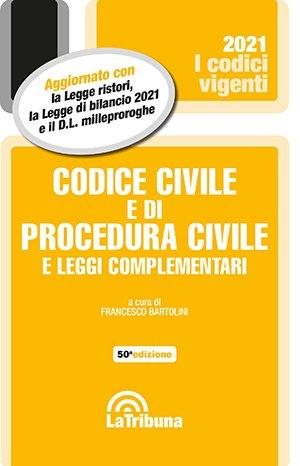 codice civile e di procedura civile vigente 2021