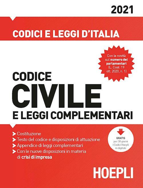 codice civile hoepli