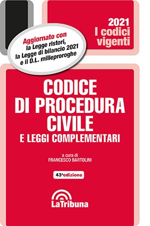 codice di procedura civile vigente 2021