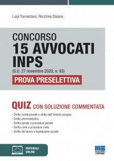 concorso 15 avvocati inps