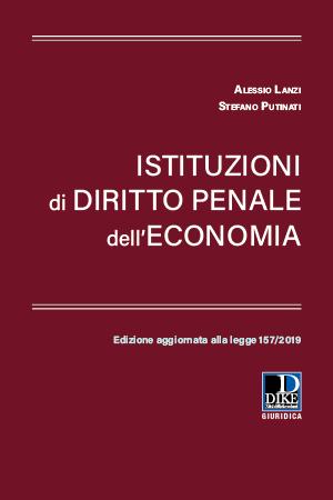 istituzioni diritto penale economia