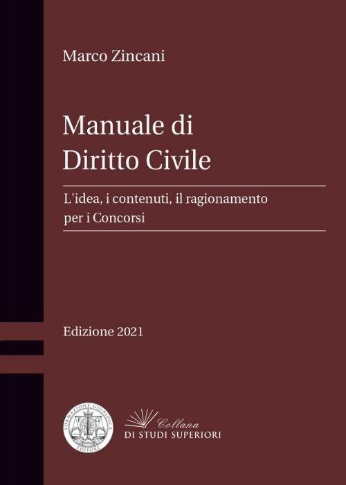 manuale di diritto civile zincani