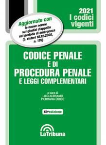 codice penale e di procedura penale vigente