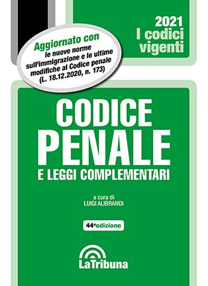codice penale vigente 2021