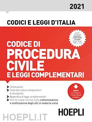 codice procedura civile hoepli