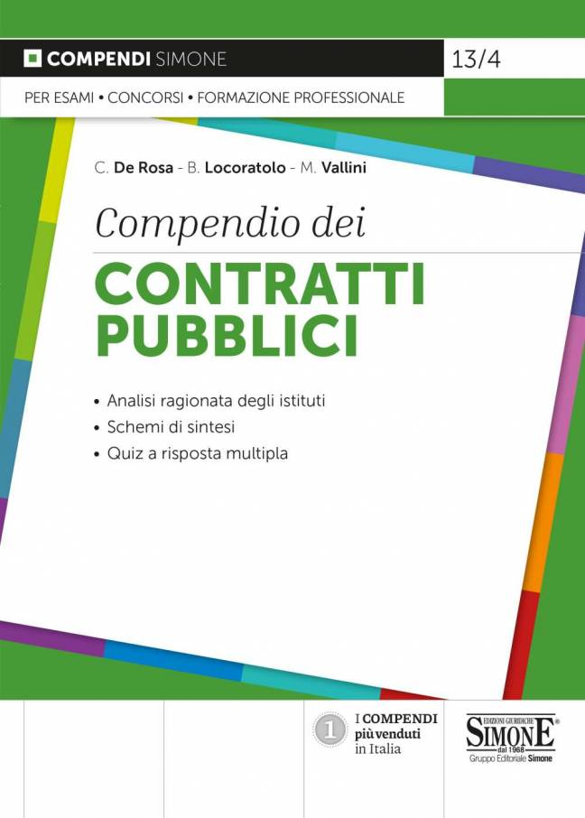 COMPENDIO CONTRATTI PUBBLICI