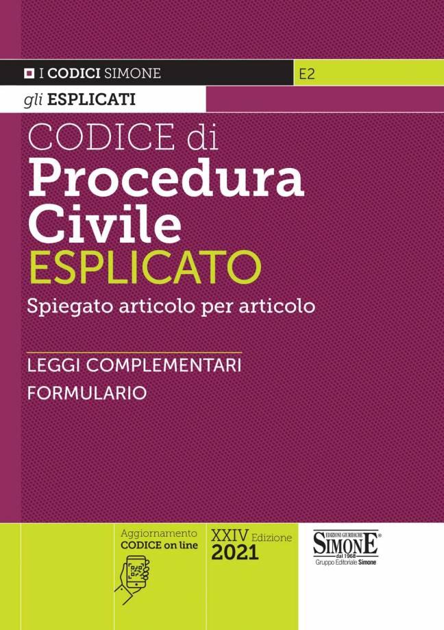codice di procedura civile esplicato