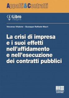 crisi impresa contratti pubblici