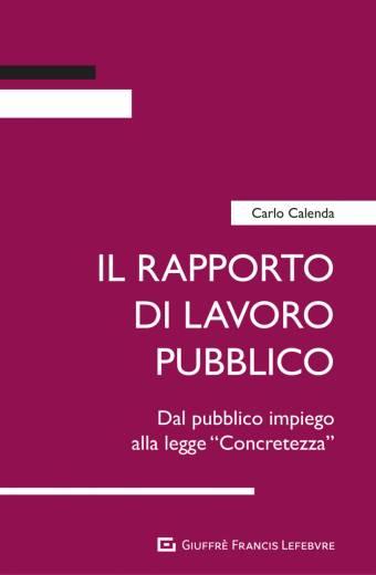 il rapporto di lavoro pubblico