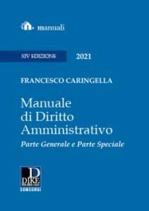 manuale di diritto amministrativo caringellas