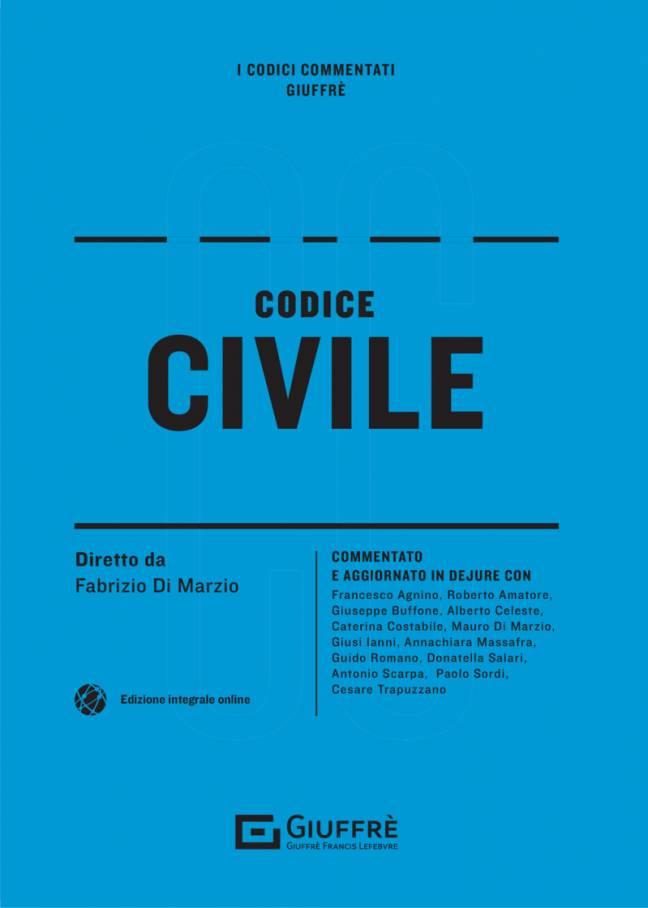 CODICE CIVILE COMMENTATO GIUFFRE 2021