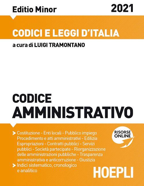 codice amministrativo minor 2021