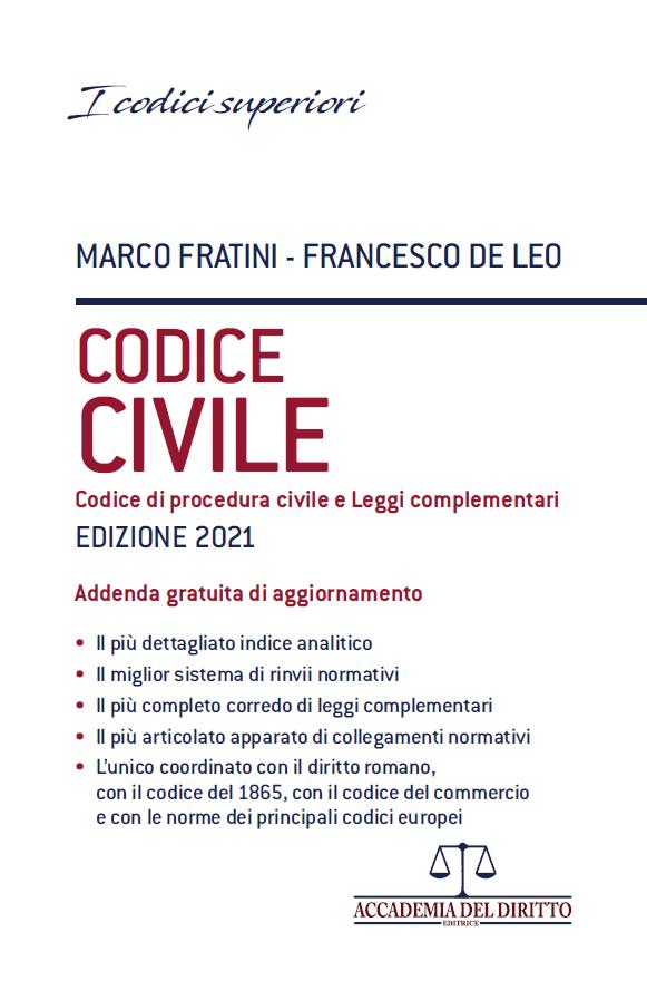 codice civile fratini