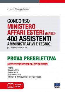 concorso ministero affari esteri 400 assistenti