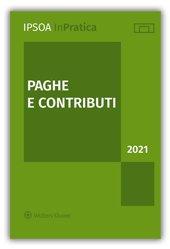 PAGHE E CONTRIBUTI 2021
