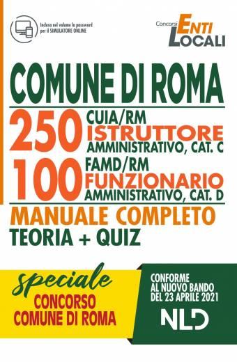COMUNE ROMA 250 ISTRUTTORI AMMINISTRATIVI
