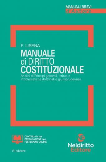 manuale di diritto costituzionale neldiritto