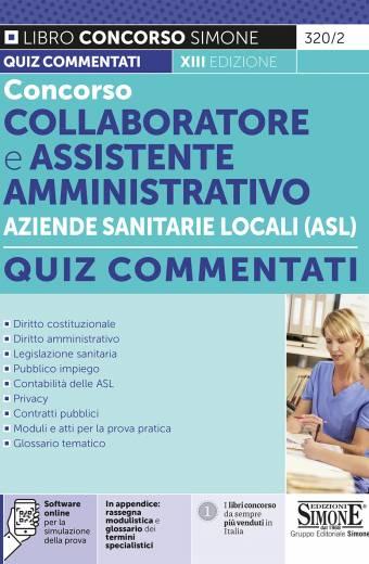 Concorso Collaboratore e Assistente Amministrativo Aziende Sanitarie Locali