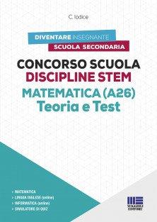 Concorso Scuola Discipline STEM Matematica (A26)