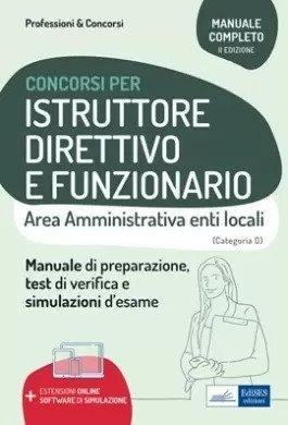 Istruttore direttivo e Funzionario Area amministrativa degli enti locali D1