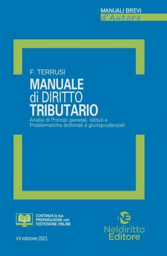 Manuale breve Di Diritto Tributario 2021