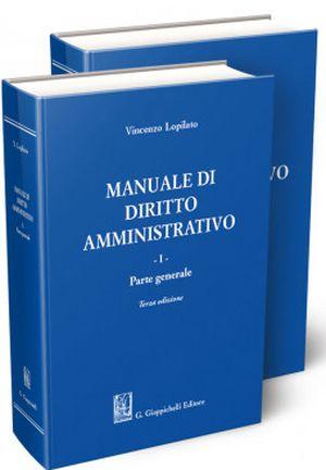 manuale di diritto amministrativo Lopilato