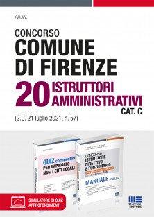 Concorso Comune di Firenze 20 Istruttori amministrativi