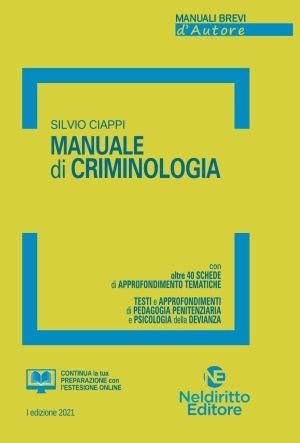 manuale breve di criminologia