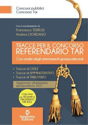tracce per il concorso referendario TAR