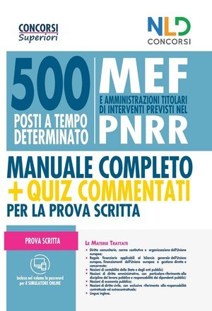 500 Posti MEF PNRR nld