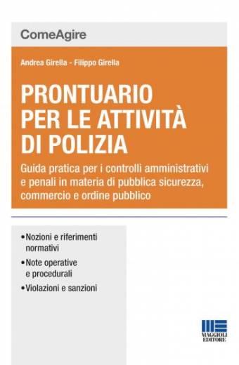 Prontuario per le attività di polizia