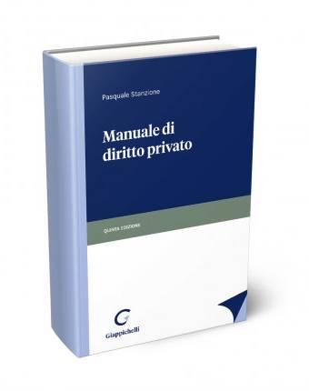 Manuale di diritto privato stanzione